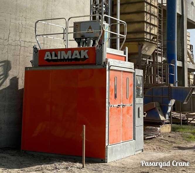 آسانسور صنعتی آلیماک