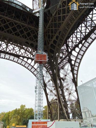 آسانسور کارگاهی برج ایفل